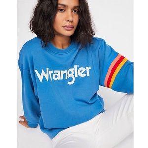 Free People x Wrangler Logo Sweatshirt